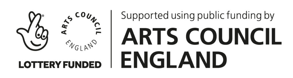 lottery funded supported by arts council logo